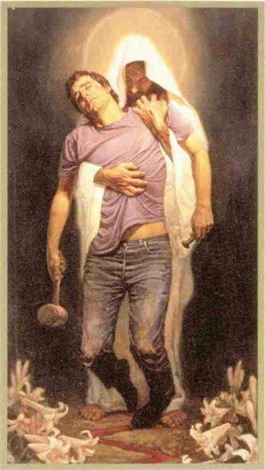 Jesus holding me up